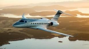 Gulfstream G280 in flight