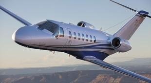 Cessna Citation CJ3+ in flight