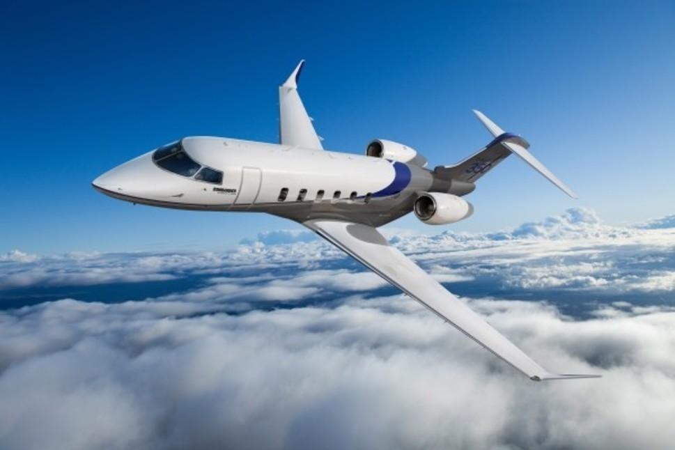 Bombardier Challenger 350 jet