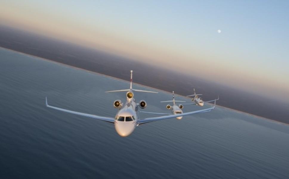 Dassault Falcon Jet family