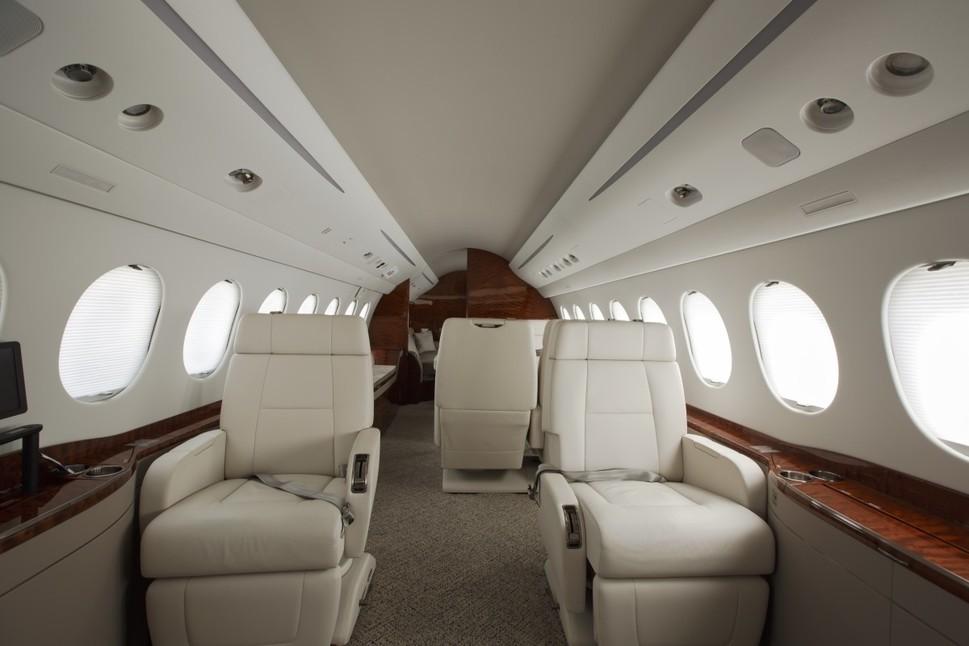 Interior Gulfstream Jet