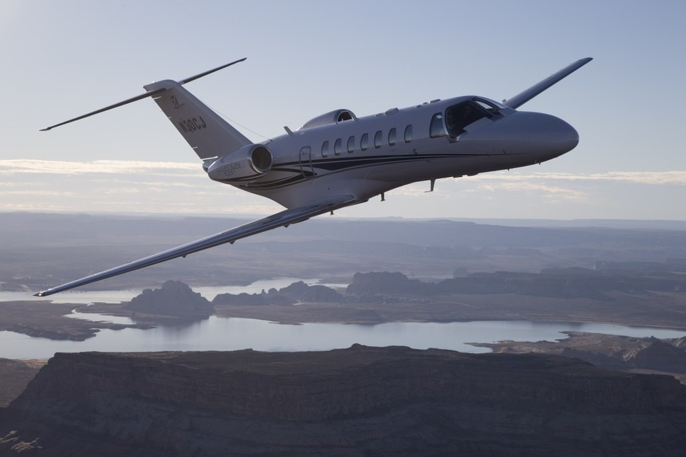 Cessna Citation CJ3+ In-Flight