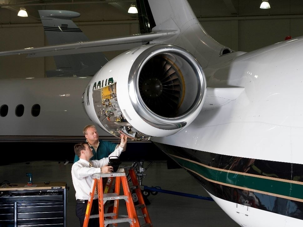Private Jet Inspection by JSSI