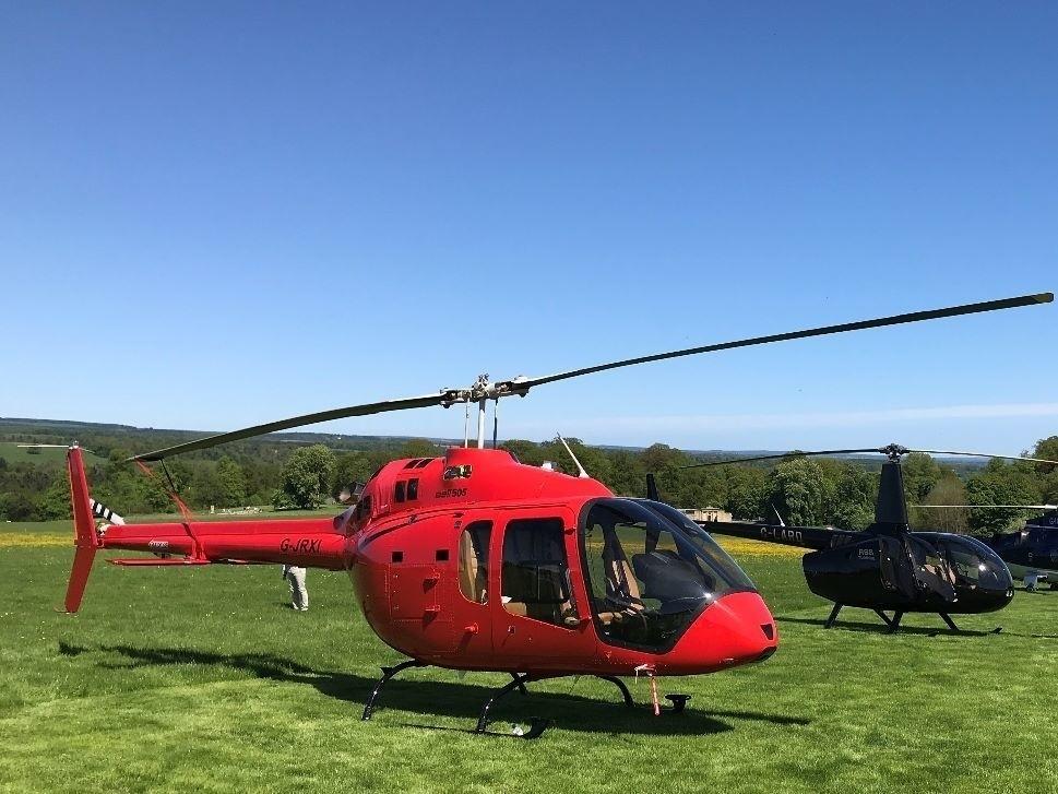 Bell 505 JetRanger X exterior photo