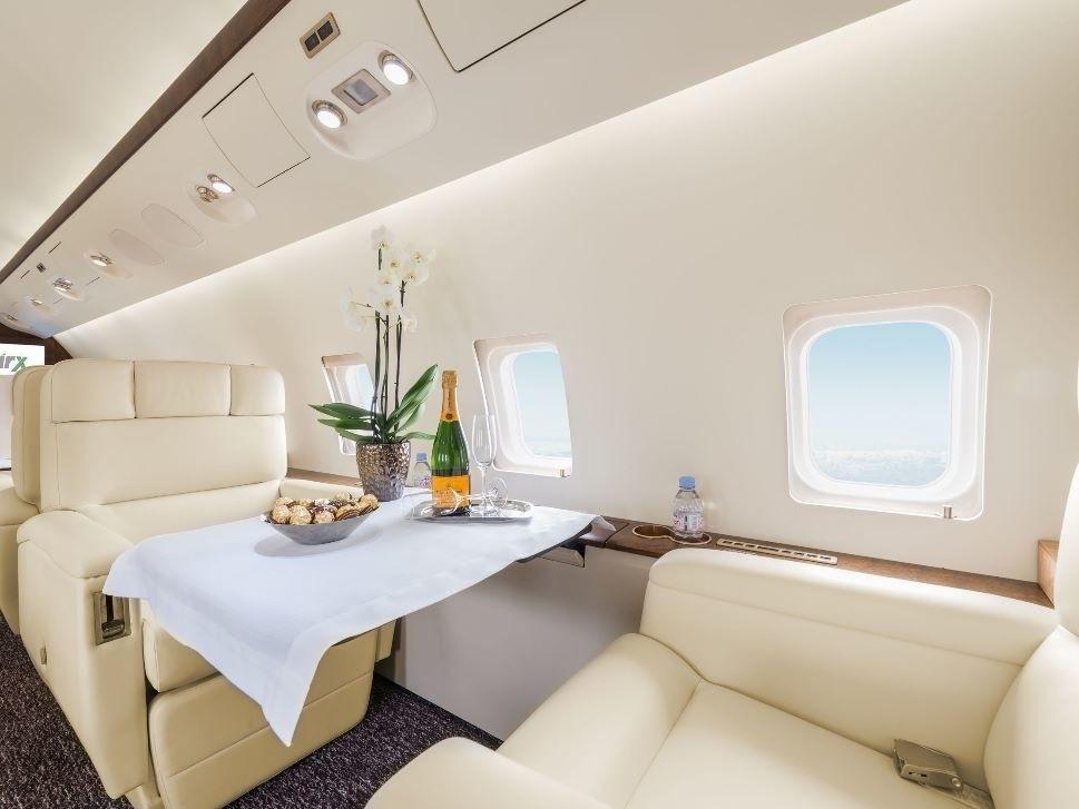 Bombardier Challenger 850 Cabin Refurbishment