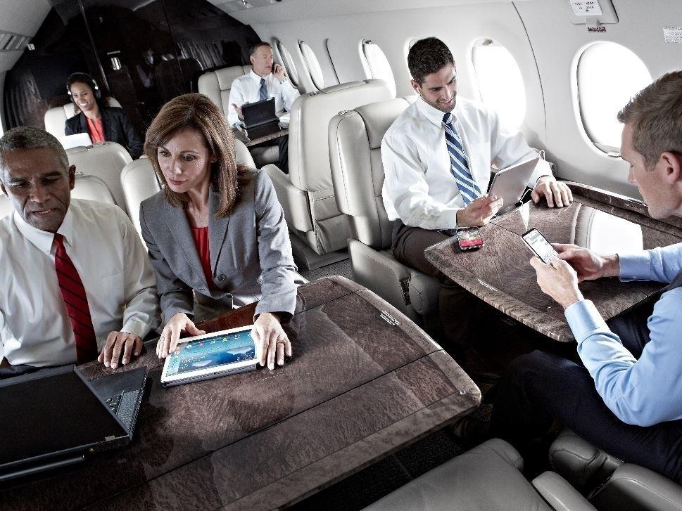 Jet Connectivity Serves Business Passenger needs