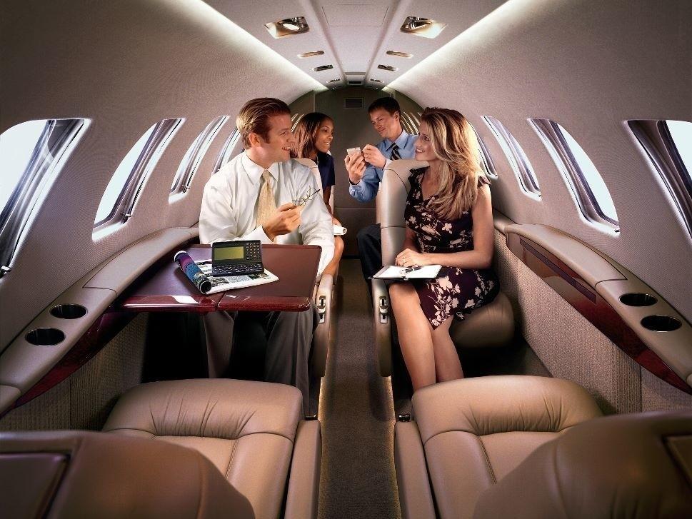 Productive Business Jet Passengers