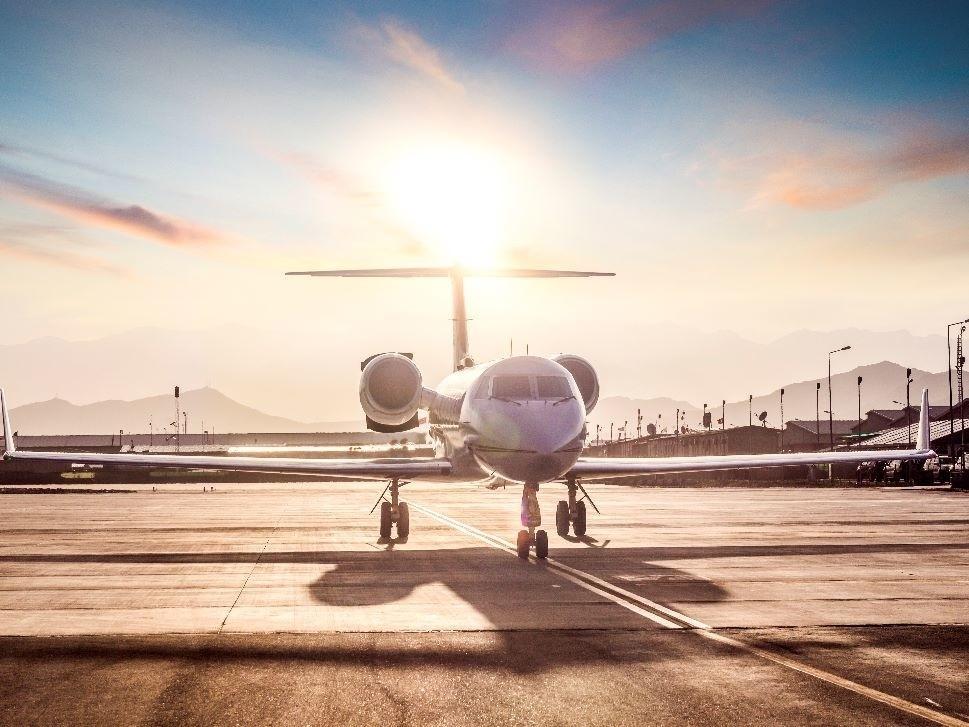Gulfstream Private Jet Waits for Passengers