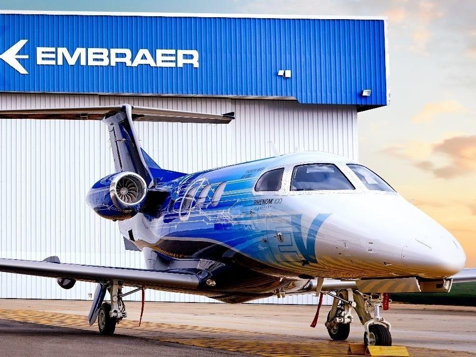 Private Embraer Phenom 100EV Jet