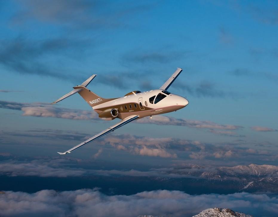In-Flight Nextant 400XTi Business Jet