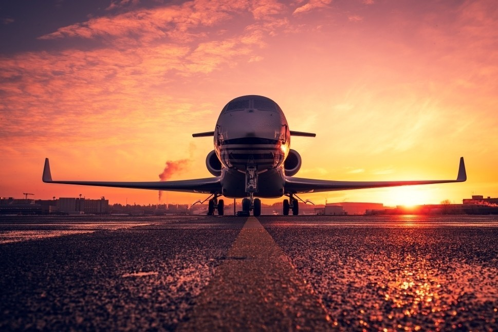 Gulfstream Private Jet ready for a day's flying
