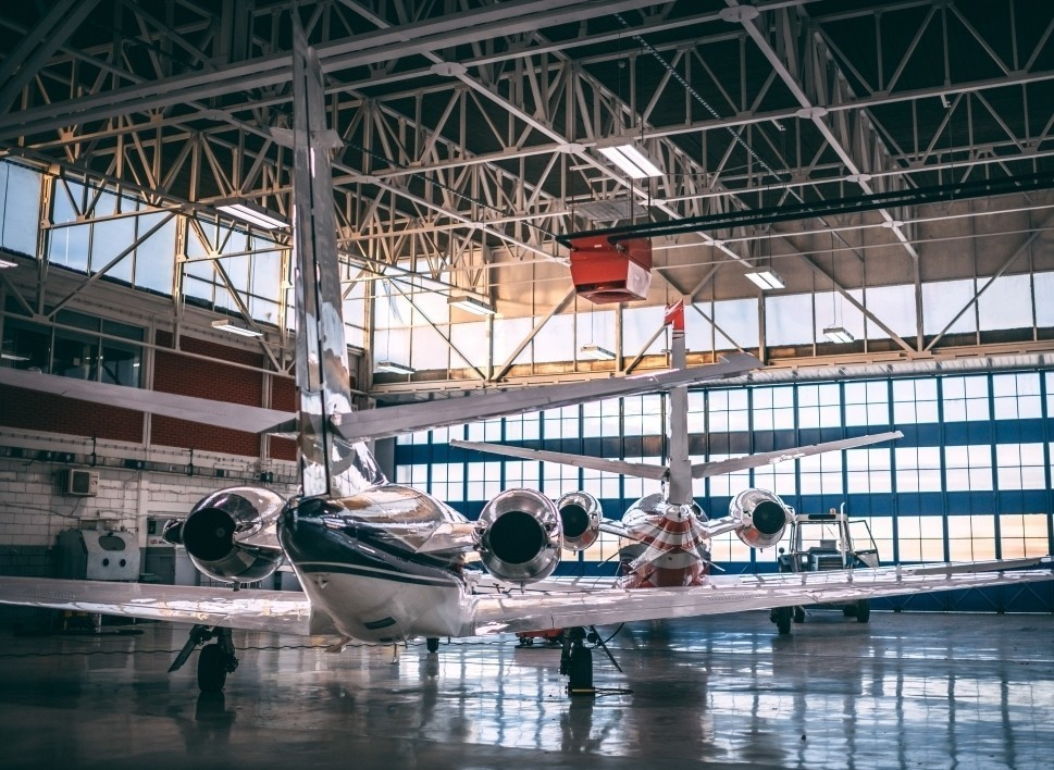 Maintenance Hangar for Private Jets