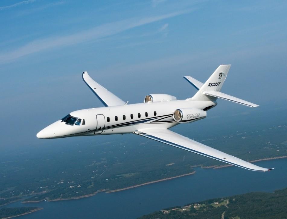 Cessna Citation Sovereign+ In-Flight