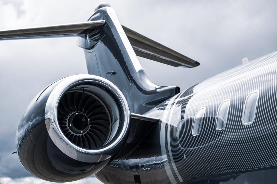 Bombardier Private Jet