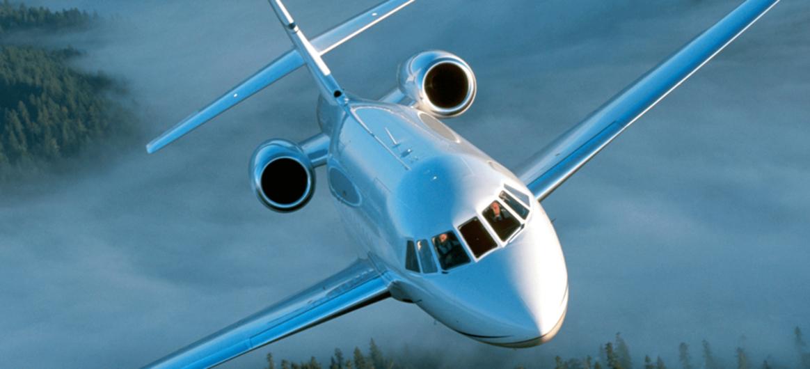 Falcon 2000EX EASy flying