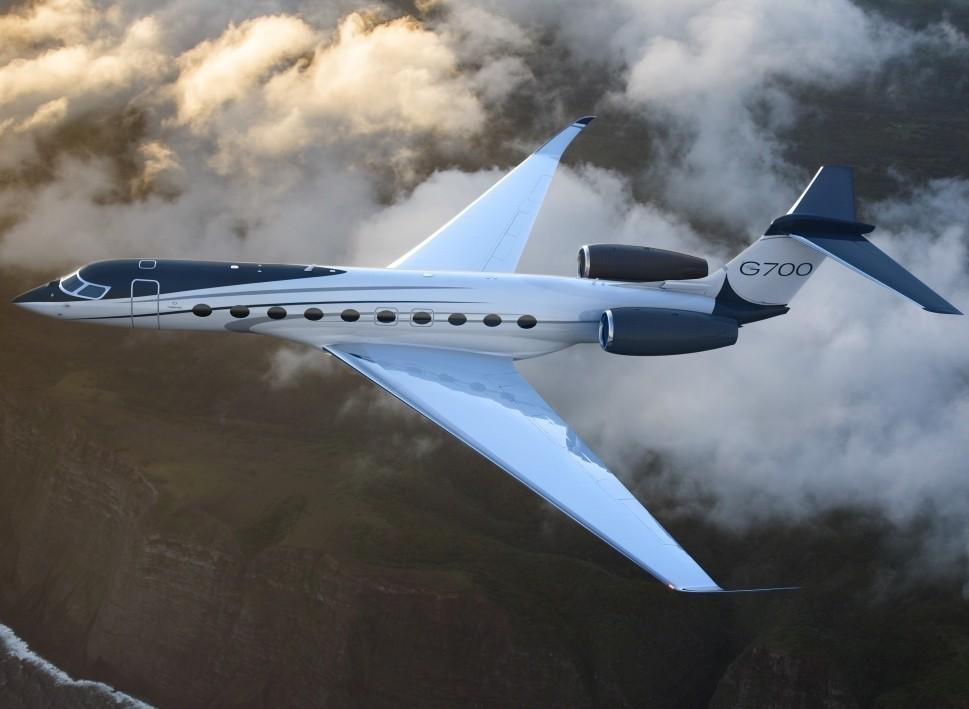 Gulfstream G700 In-Flight