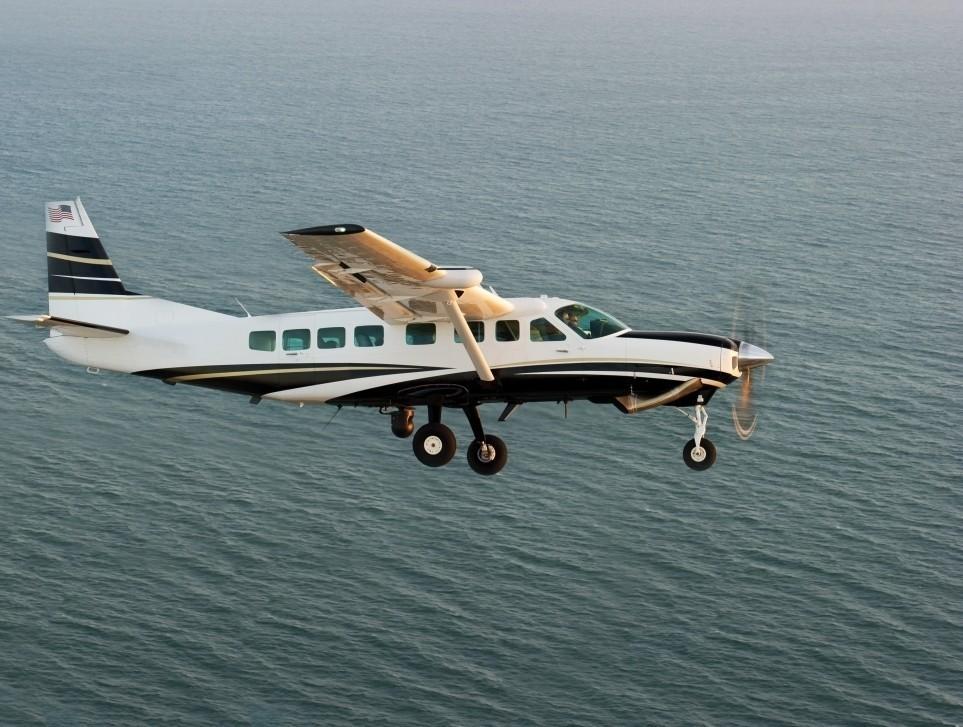 Cessna Caravan Undertaking ISR Mission