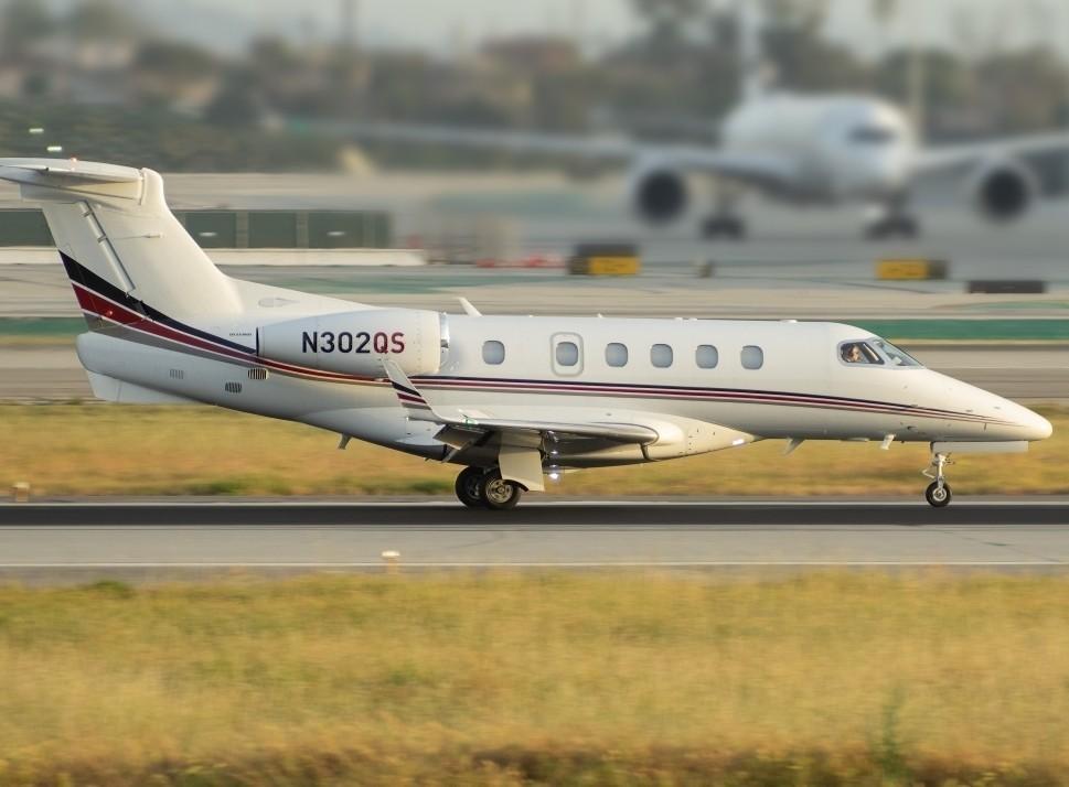 Cessna Citation Jet on Take-Off