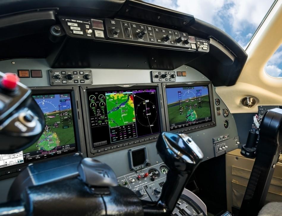 Cessna Citation Jet Avionics Panel