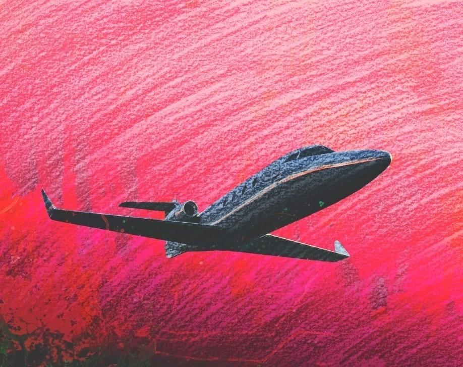 Bombardier Learjet Illustration