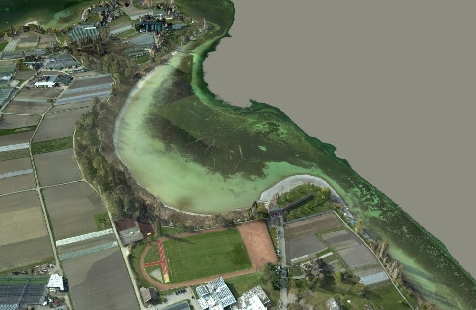 Aerial Hydro Mapping of Lake Constance's Shoreline