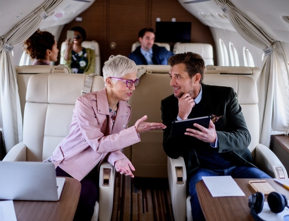 Cabin connectivity - how to get it right first time in a business jet