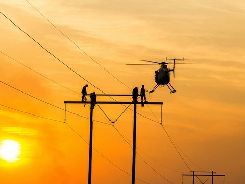 How do Aerial Work Aviation Helicopters Keep You Energised?