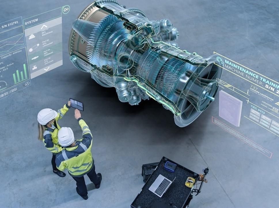 Representation of an aircraft maintenance diagnostics system