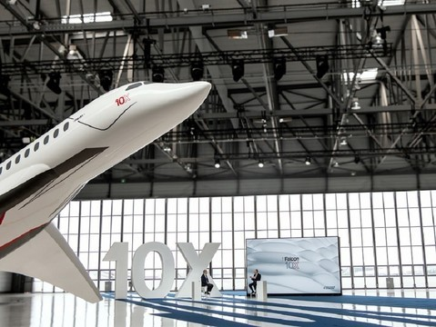 Dassault Falcon 10X to Enter Service in 2025