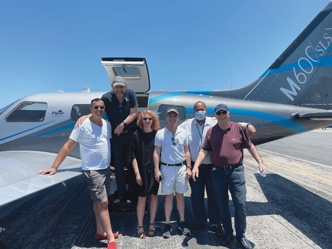 How to Ferry Turboprops from America to Europe