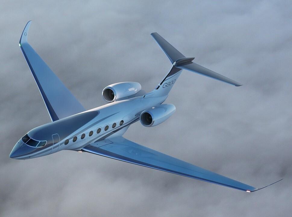 The Gulfstream G800 private jet