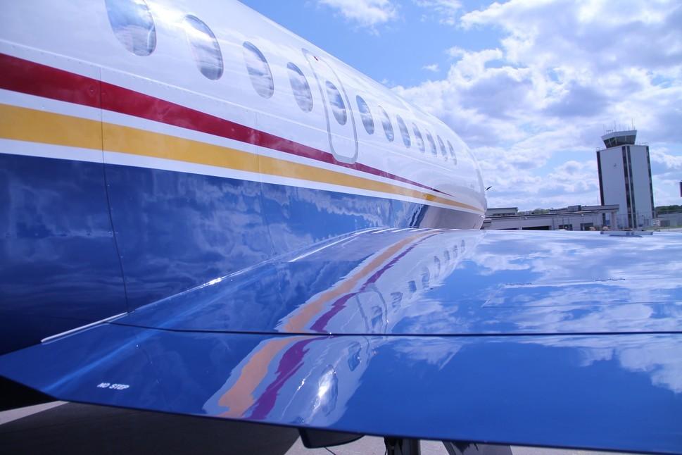 Plane Sense 1- 2617-  Demystifying New Paint and Interior Aug 14 Main Image Falcon 900