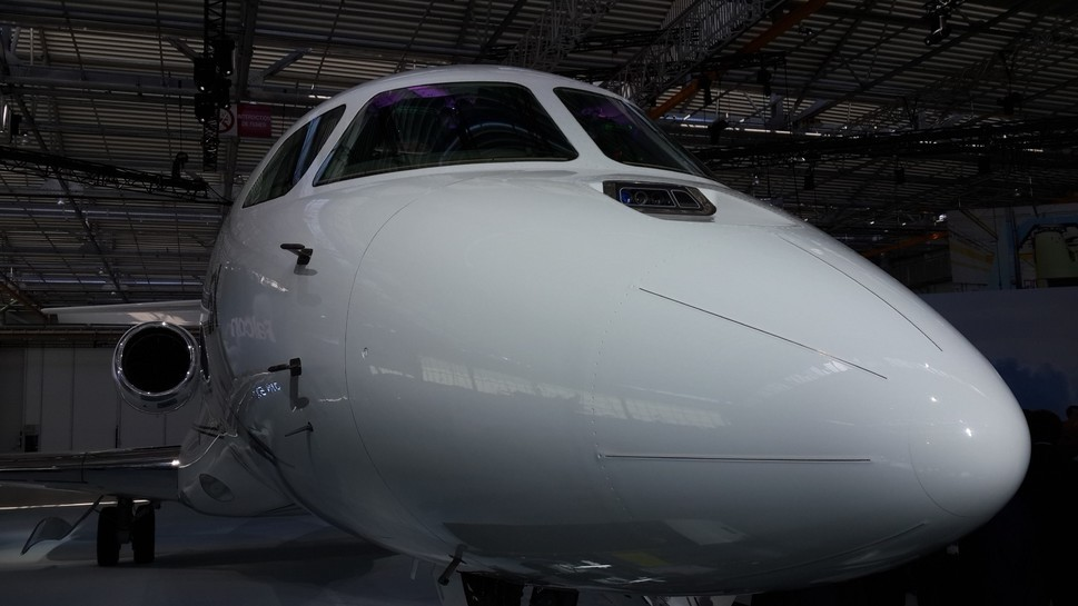 Falcon 5X with Elbit Systems ClearVision EFVS