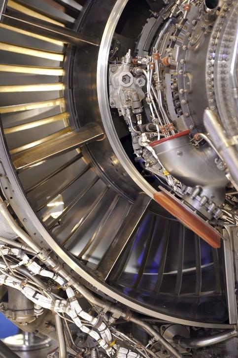 BizJet Fanjet Engine