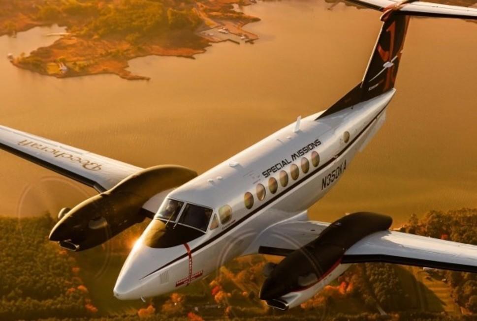 Beechcraft King Air 350ER Turboprop