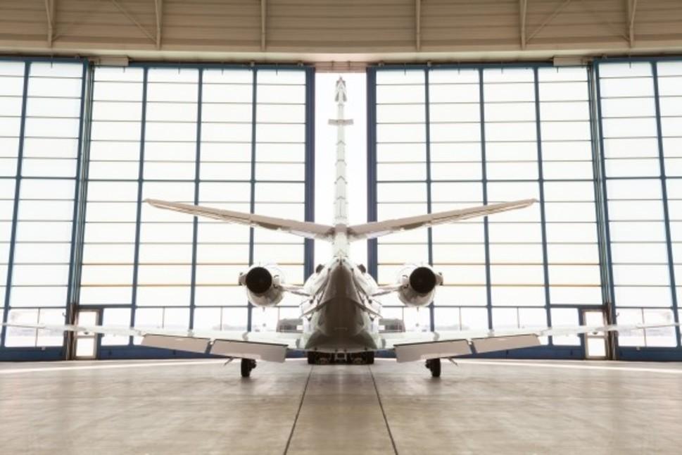 Private Jet Hangar