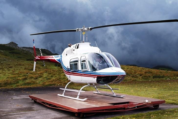 Bell 206B Exterior