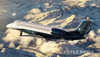 Embraer Legacy 650 Exterior