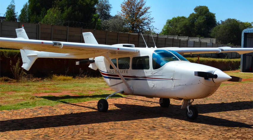 1970 cessna 337e parked on airfield