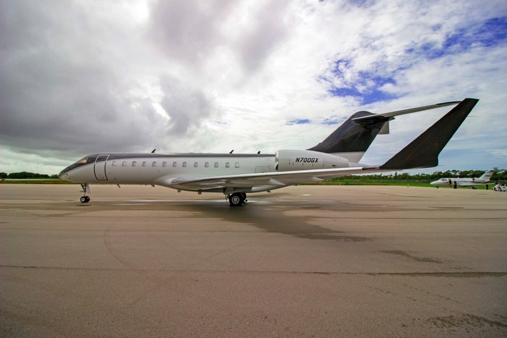 Bombardier Global Express Exterior