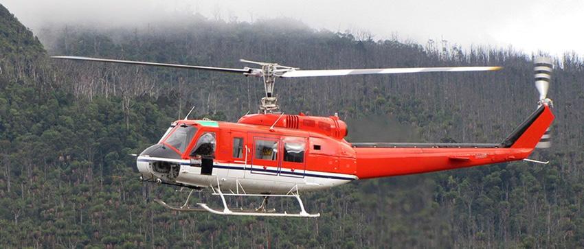 Bell 205 Exterior