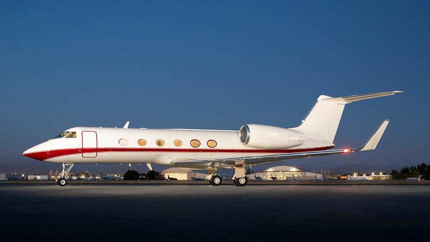 Gulfstream IV Exterior