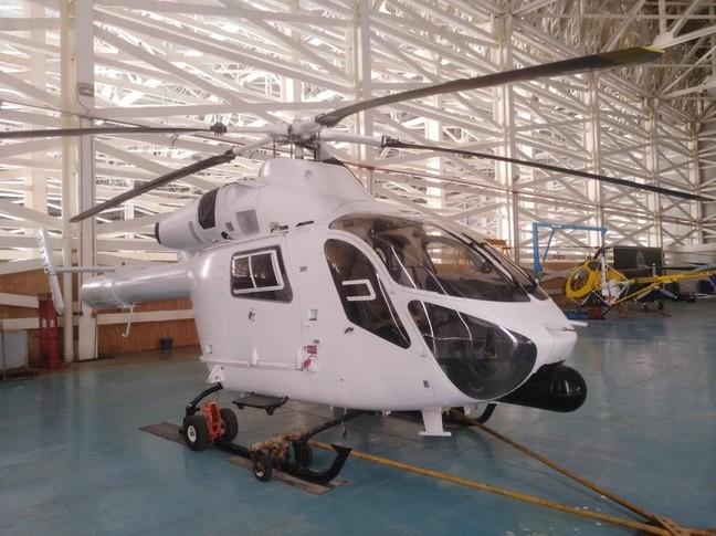 md 902 explorer helicopter exterior
