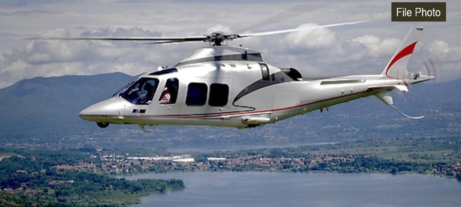 Agusta AW109SP In the sky