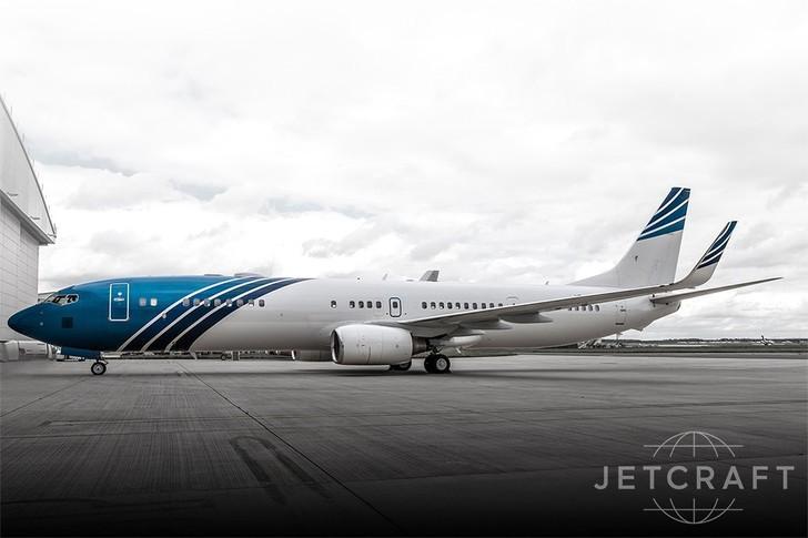 Boeing BBJ3 Exterior