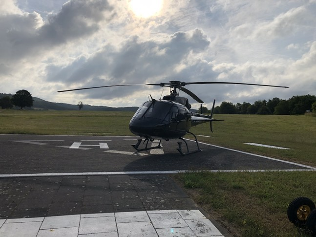 Airbus/Eurocopter AS 350B-2 Cabin