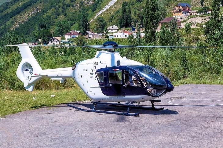 2002 eurocopter ec135t2 exterior