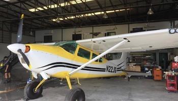 Cessna 185 Exterior