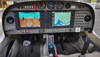 2006 diamond da40 180 star cockpit panel