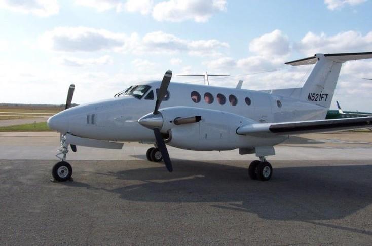 1980 beechcraft king air 200c exterior